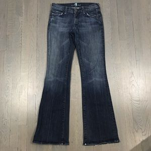 7 for all mankind Flare Bell Bottom Denim Jeans